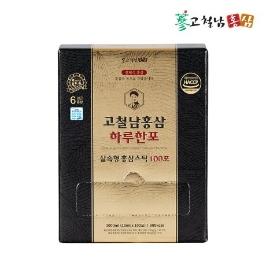 [더싸다특가] 늘필요_고철남홍삼 짜먹는 전체식 홍삼스틱 하루한포 실속형 100포