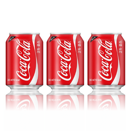 [코카콜라]코카콜라 업소용 245ml x 24can