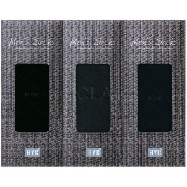 BYC (BYC) 로얄 24호 남성양말 3매입 세트 FMR1803