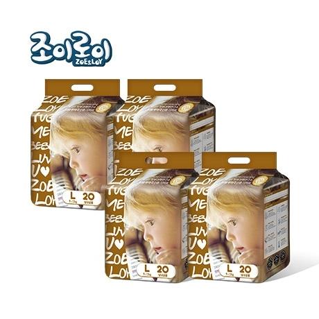 ♥조이로이 허그 팬티기저귀 대형 20매x4팩
