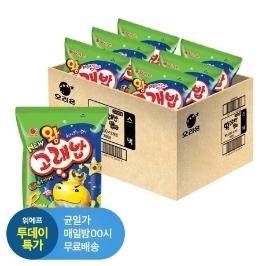 [투데이특가] 오리온 왕 고래밥 56g x 12입(1box)