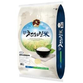 [유가농협]  2019년산 햅쌀/천하일미20kg /찹쌀 섞인 쌀 / 백미90%+찹쌀10%의 조합
