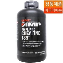 [지앤씨] [해외배송] GNC/지앤씨 Pro Performance AMP Amplified Creatine 189 240Tabs