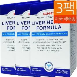 [지앤씨] [해외배송] 3병 지앤씨 리버헬스 간건강 포물라 90캡슐