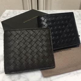인트레치아토 남성 카드형 반지갑(블랙/에스프레소)
