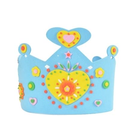 행사/어린이 만들기 재료 EVA 왕관만들기 유아 초등