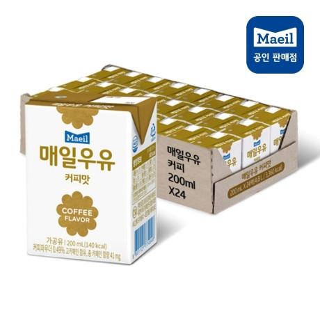 매일멸균 커피우유 24팩 x 2박스