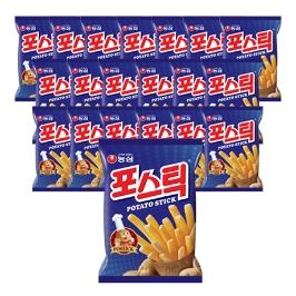 [원더배송] 농심 포스틱 84g 20봉
