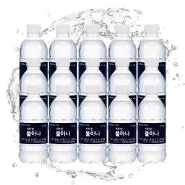 [원더배송] 지리산 생수 330ml X 20