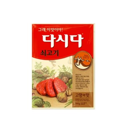 (멸치쇼핑) - 백설 쇠고기 다시다 300g