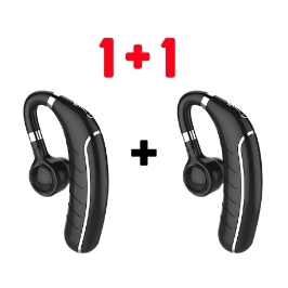 1+1 FC1블루투스5.0 무선 싱글 이어폰/발신자 영문 안내