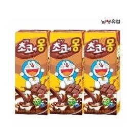 남양 초코에몽 멸균우유 180mlx24팩