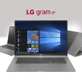 17Z990-RAAC9U1 인텔 ® 코어 ™ i7 프로세서 512GB NVMe SSD LG 그램 17 ''초경량 노트북