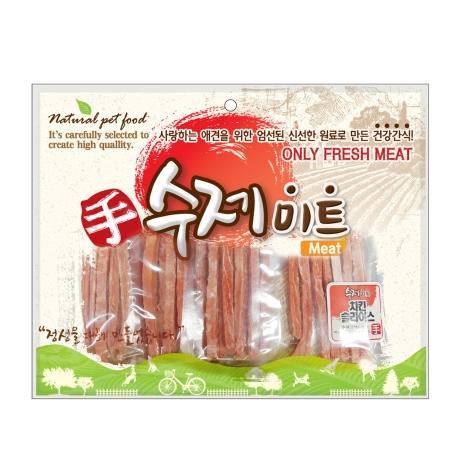 수제미트 대용량 강아지간식 치킨슬라이스 300g