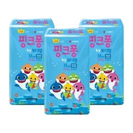 토디앙 핑크퐁 밴드 중형 60매X3팩
