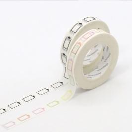 모모팝 배터리 모모마테 디자인 마스킹 테이프