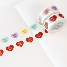 모모팝 데이오프 모모마테 디자인 마스킹 테이프
