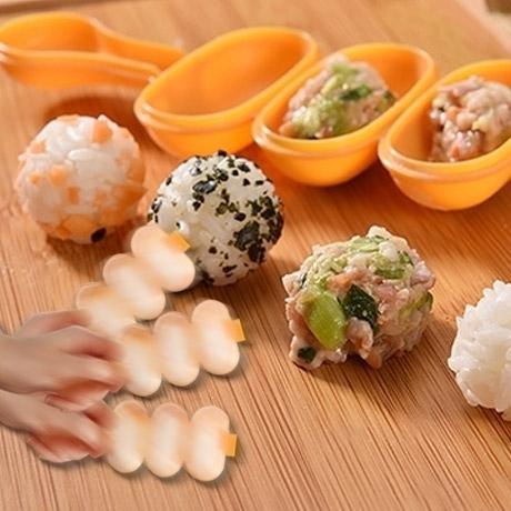 3단주먹밥틀+주걱