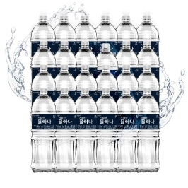 [무료배송] 지리산 생수 2L X 24