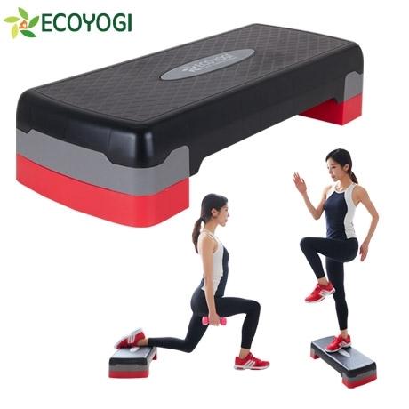[에코요기] 대형2단 스텝박스 에어로빅발판 계단걷기운동