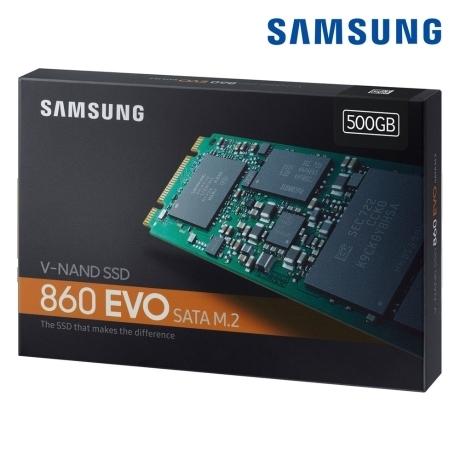 삼성정품 SSD 온라인 정품 판매점 860 EVO M.2 SATA 500GB MZ-N6E500BW