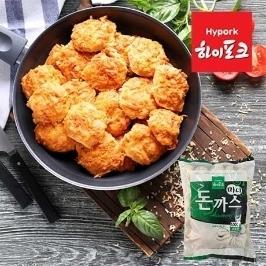 하이포크 미니돈까스 3kg ( 1kg x 3봉 ) + 하림 치킨너겟 100g