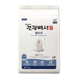 [원더배송] 건강백서 말티즈 6kg