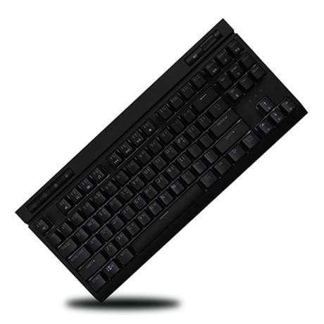 [몬스타기어] MK87 RGB LED 갈축 적축 게이밍 기계식키보드 블랙 적축