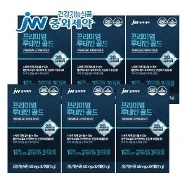 JW중외제약 프리미엄 루테인 골드 30캡슐 x 6