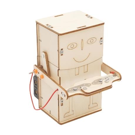 티처스 STEAM 동전먹는 자동 저금통 로봇 (J-19)