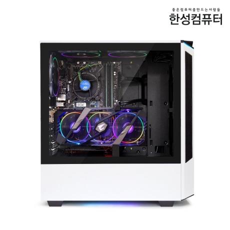 [한성컴퓨터]한성컴퓨터 보스몬스터 DX5516S 화이트/데스크탑/PC/본체/게이밍