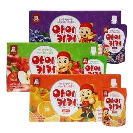 [원더배송] 정관장 아이키커 사과맛10팩+포도맛10팩+오렌지맛10팩
