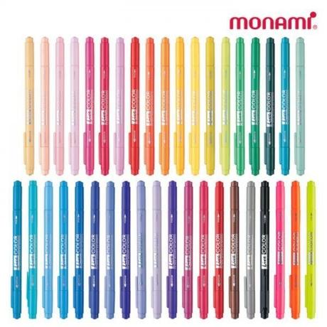 모나미 라이브칼라 39색 낱개 수성펜 사인펜