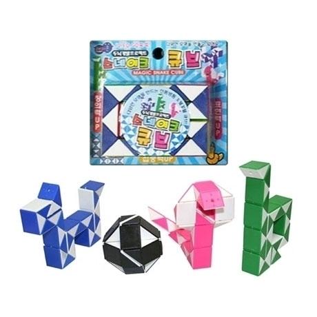 [싸고빠르다] 스네이크 큐브 장난감/ 색상 랜덤발송