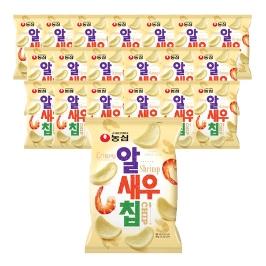 [슈퍼투데이특가] 농심 알새우칩 68g 20봉