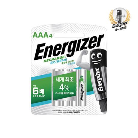 [에너자이저] M.에너자이저 밸류충전용 건전지 AAA 4입