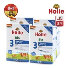 홀레 공식수입대리점 유기농 분유 3단계 600g-4개