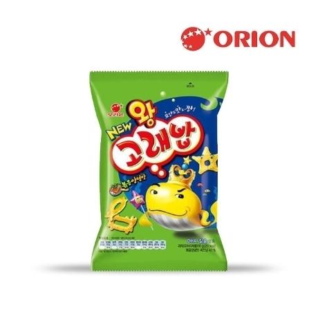[오리온] 왕고래밥 볶음양념맛 56g