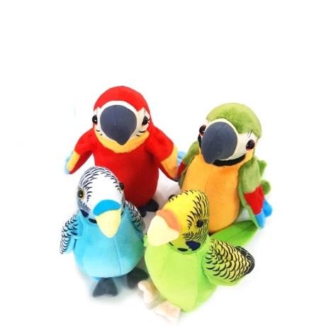 말하는 앵무새 따라쟁이 인형 말하는새 녹음 장난감
