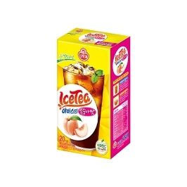 [싸고빠르다] 아이스티 복숭아맛 (14GX20입) (유통기한 21년 12월 9일)