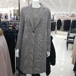 [모다아울렛] 벨라디터치 모직 정장 코트