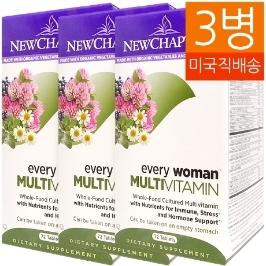 [해외배송] 3병 뉴챕터 에브리우먼 멀티비타민 72정