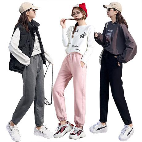 [라몽드]겨울 융털 기모 추리닝 조거 극세사 운동복 트레이닝 바지 팬츠