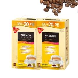 [프렌치카페] 프렌치카페 커피믹스 400T 무배 200T+200T T당89.7