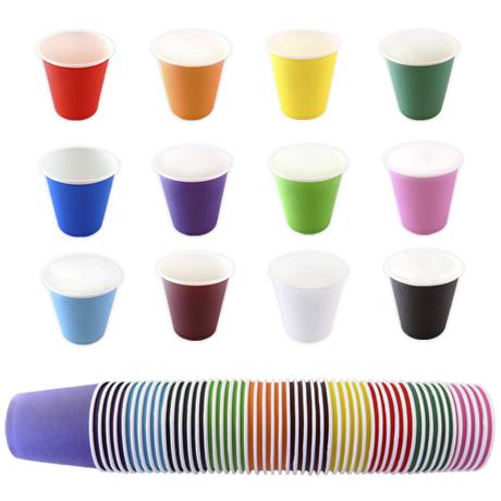칼라종이컵 색종이컵 교재 - 12칼라별 (국내산)