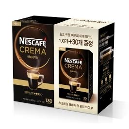 [원더배송] 네스카페 크레마 미니 아메리카노 커피 130T