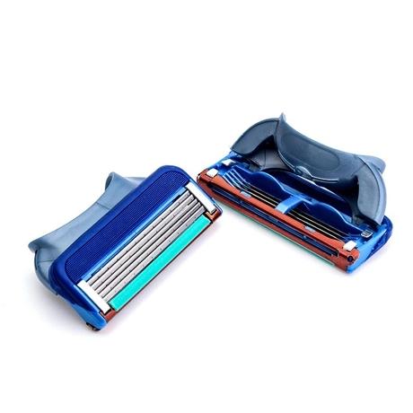P&G 질레트 프로글라이드 매뉴얼 면도날 호환용 면도날 4개2팩