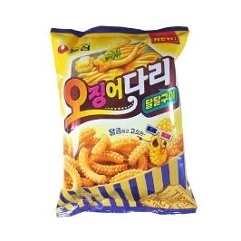 [원더배송] 농심 오징어다리 달달구이 75g 20봉