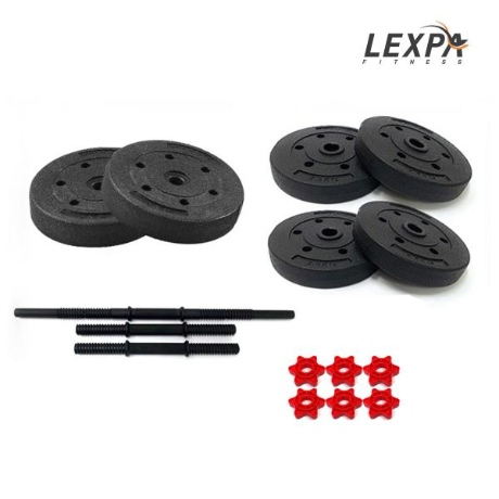 [렉스파]PVC 덤벨세트 YA-1037(24kg)/아령