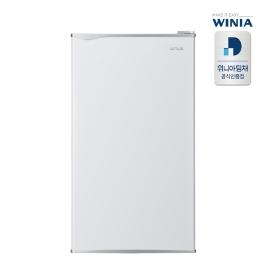 [디지털위크] 공식인증점 위니아 소형 일반냉장고 ERR093BW 1등급 93리터 1도어 무료방문설치 으뜸효율환급